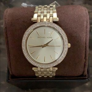 Michael Kors Gold watch studded face